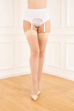 Load image into Gallery viewer, Reinforced Heel & Toe Stockings - Pastel