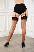 Load image into Gallery viewer, Full Contrast Seamed Stockings