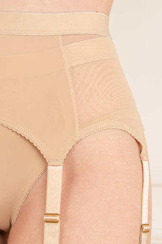 Gio Inspire Suspender Belt & Panty Set