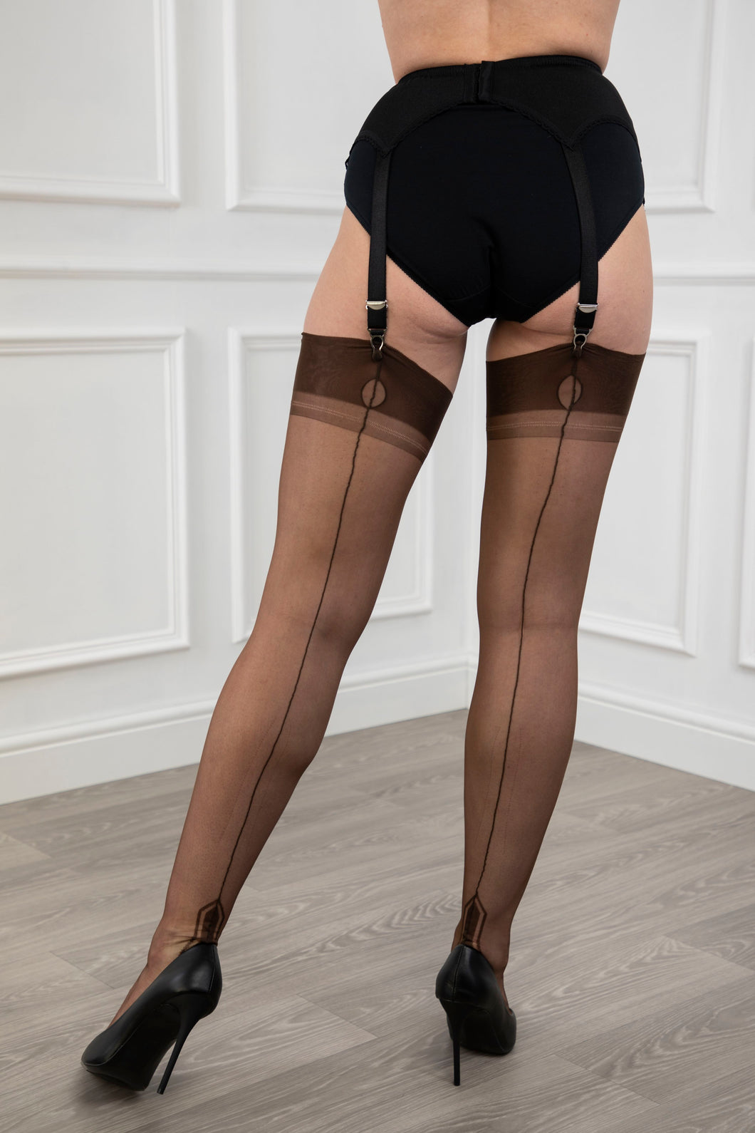 Manhattan Heel Stockings