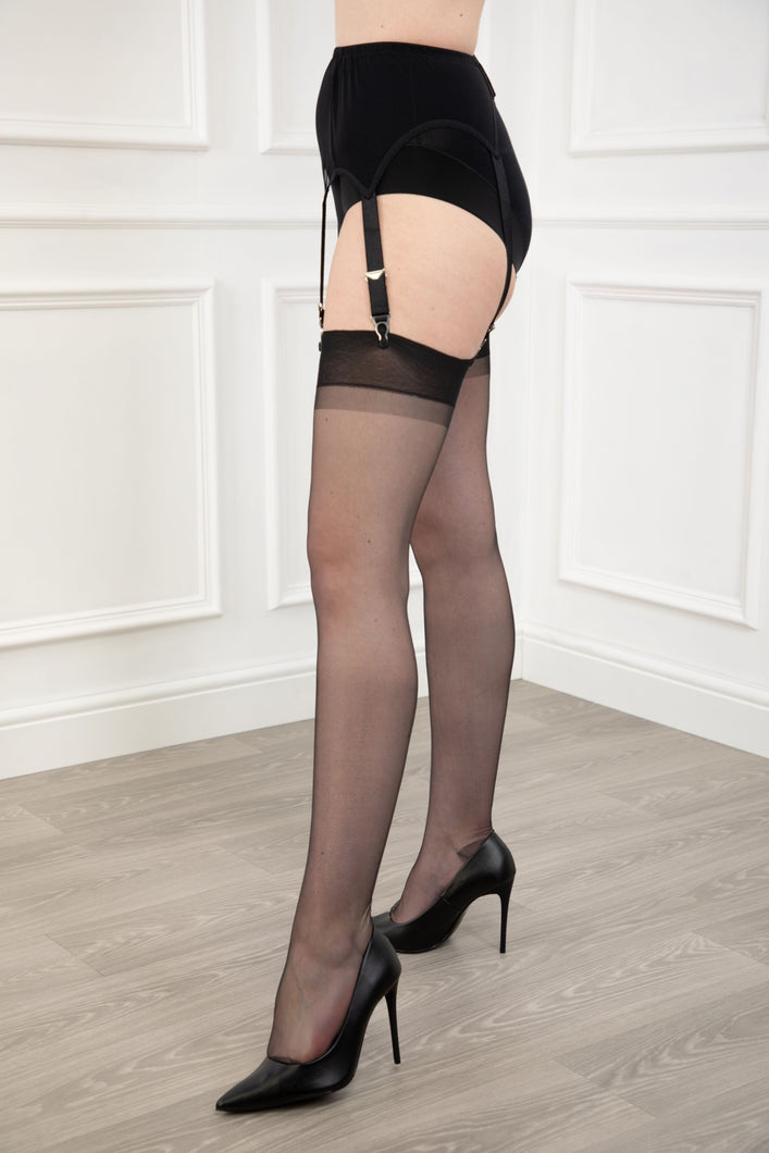 Reinforced Heel and Toe Stockings