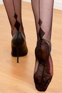 LIMITED EDITION - Charleston Heel Fully Fashioned Stockings