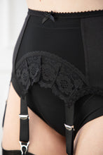 Load image into Gallery viewer, Six Strap Arch Lace Suspender Belt