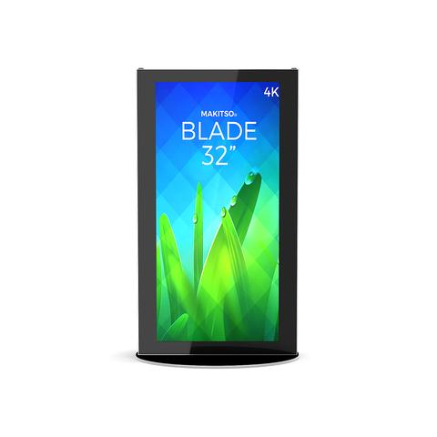 "MINI BLADE 32"" - 4K DIGITAL SIGNAGE KIOSK"