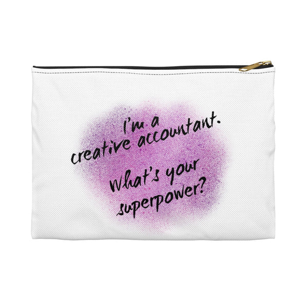 Creative Accountant Pencil  / Cosmetic Case
