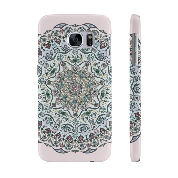 Mandala design Slim Phone Cases
