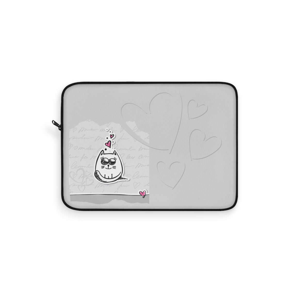 Love Kitty Laptop Sleeve
