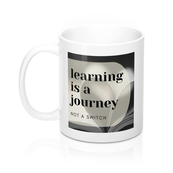 'Learning is a journey' Mug