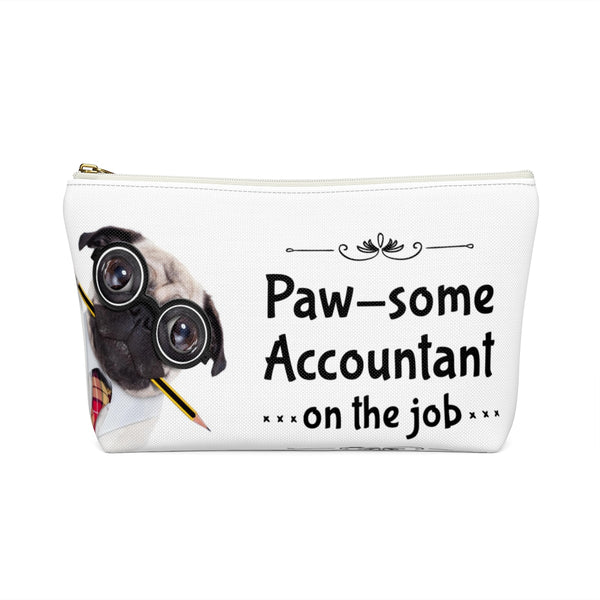 Paw-some Accountant Pencil Case (wide base)