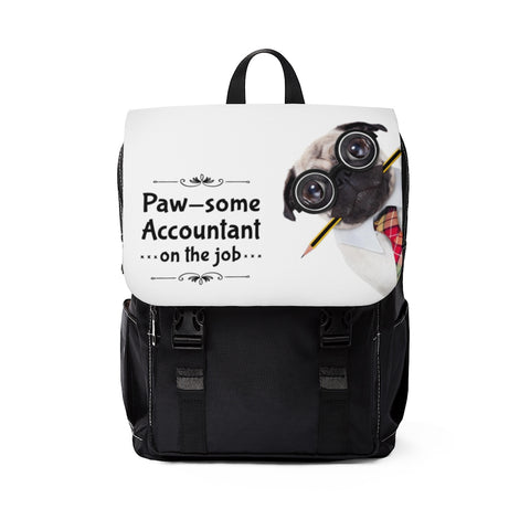 Paw-some Accountant Backpack
