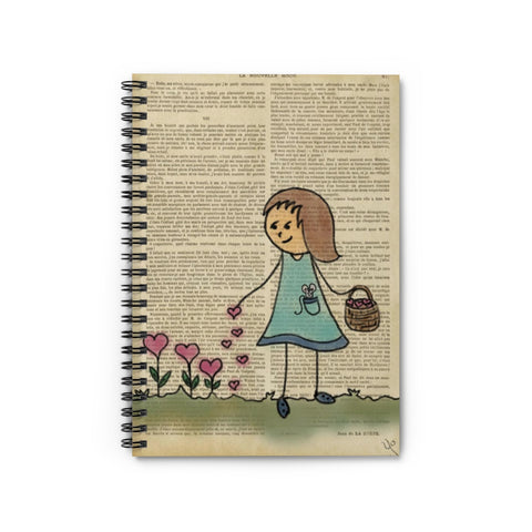 Sowing the seeds of love Spiral Notebook