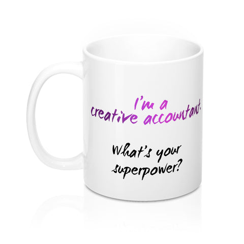 Creative Accountant mug