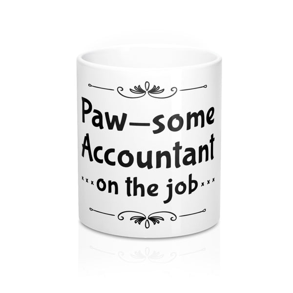 Paw-some Accountant Mug