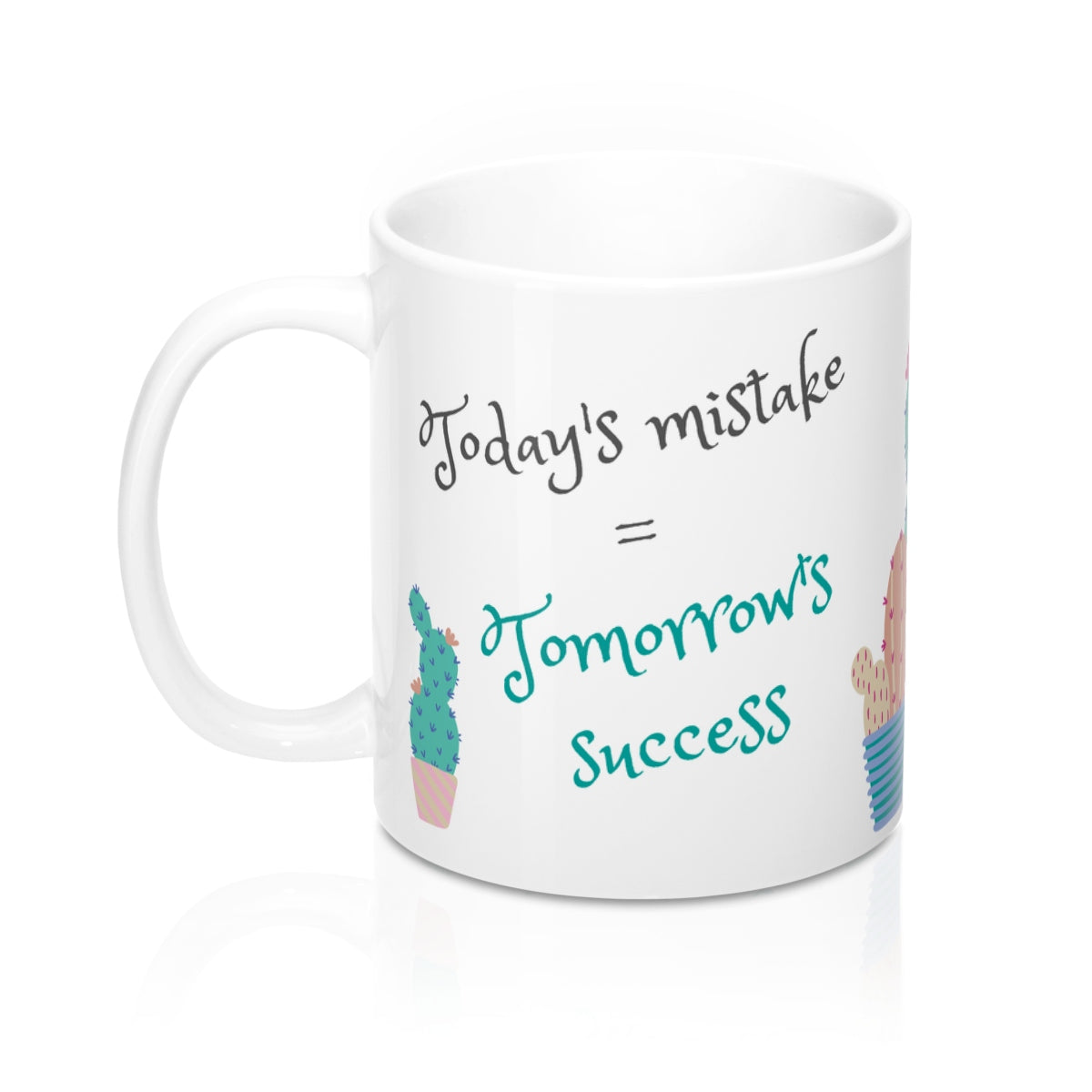 Today's Mistake, Tomorrow's Success Mug