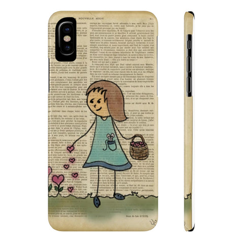 Planting the seeds of Love Slim Phone Cases