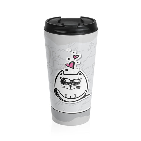 Love Kitty Travel Mug