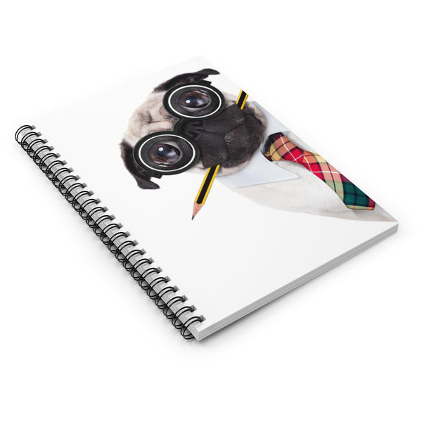 Accounting Pug Spiral Notebook