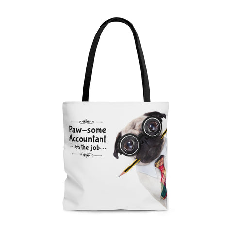 Paw-some Accountant Tote Bag