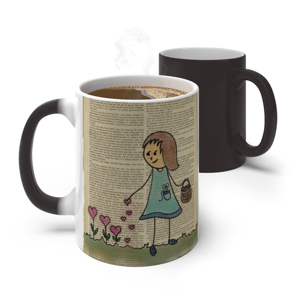 Sowing the seeds of love Colour Changing Mug