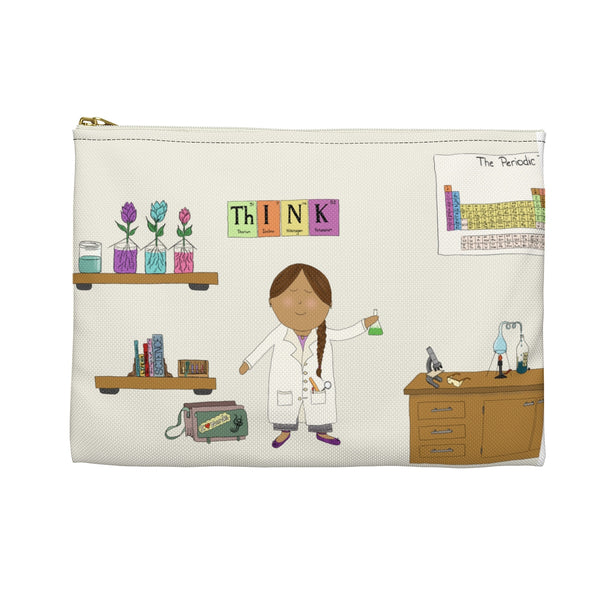 Girl Scientist Pencil Bag