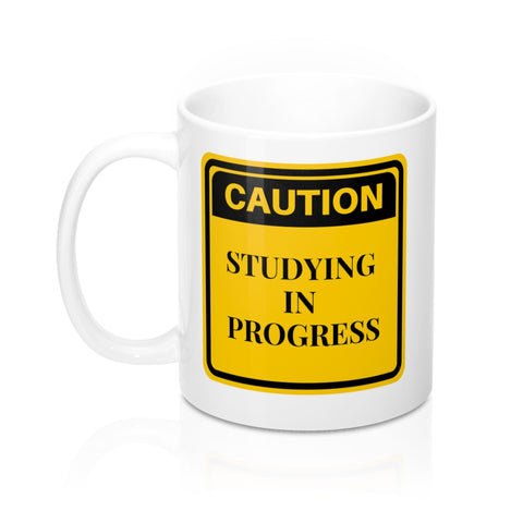 Studying in Progress Mug