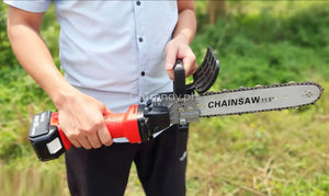 Universal Angle Grinder Chainsaw Attachment - Electric Chain Saw Stand (US Design)