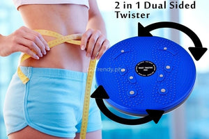 Waist Twisting Disc Figure - The New Master Moves Slimming Board With Foot Magnetic Reflexology
