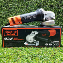 Hoyoma Japan Angle Grinder (650 Watts) - Chainsaw Bracket Compatible