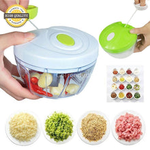Original All In One Chopper For Fruits Veggies Meats (Free Super Absorbent Cleaning Towel)