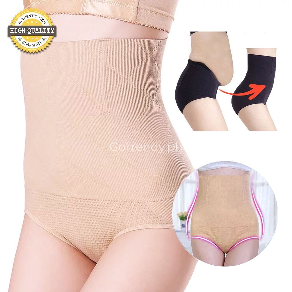 52b3be6a67ebe Body Shaper Tummy Control Girdle (The New Improve Shaping Panty) - High  Waist Slimming Panty - Black