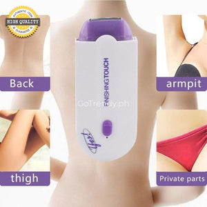 Finishing Touch Pain Free Hair Remover For All Skin Types And Area