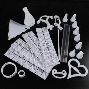 100 Piece Cake Decorating Kit - Easily Create Beautiful Decorated Cakes And Cookies Like A Pastry