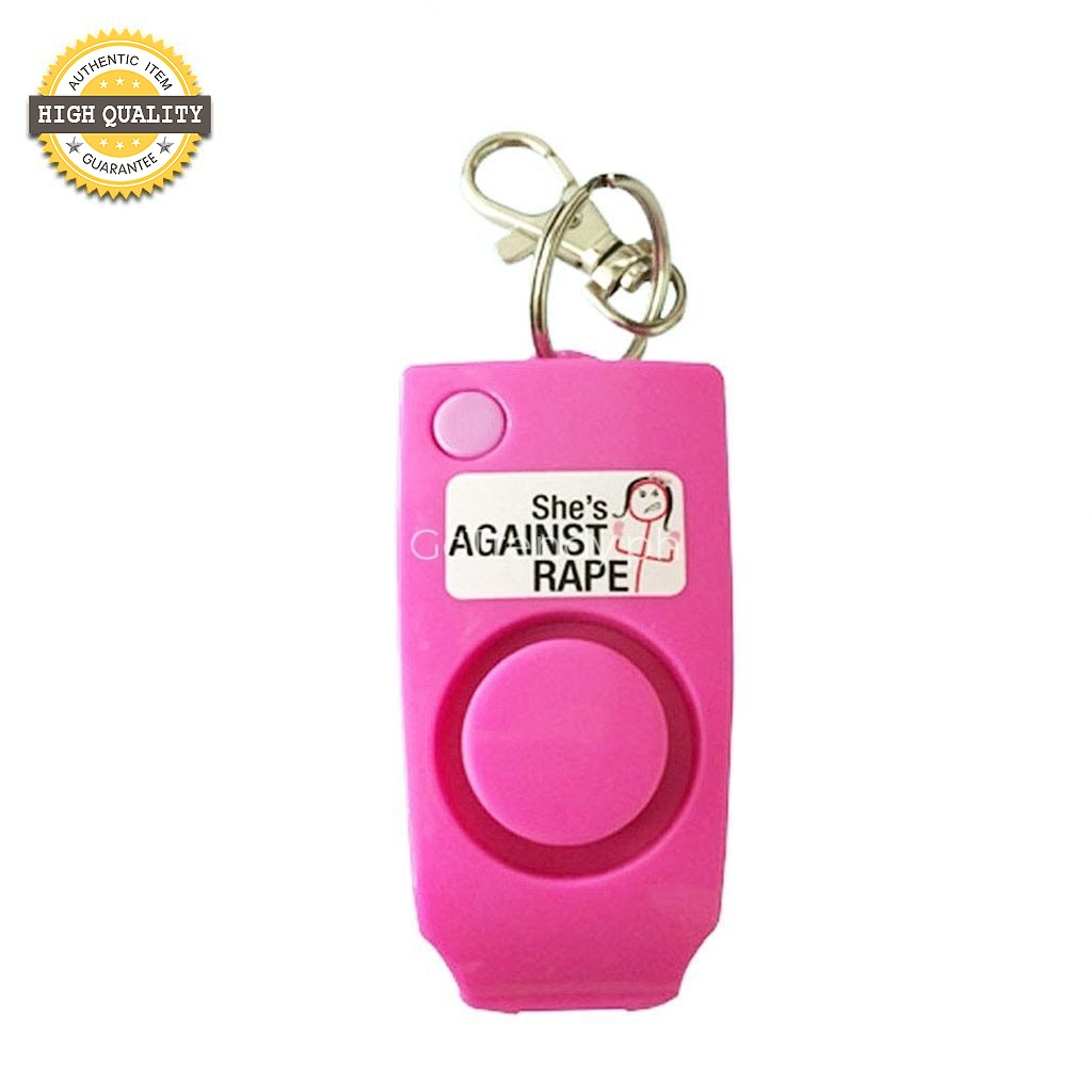 Keychain Security Panic Alarm Self-Protection Rape Whistle For Girls Kids And Ladies