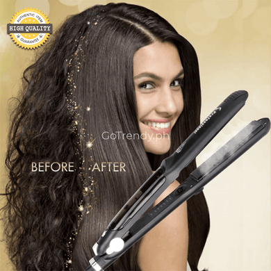 Best Hair Rebonding Straightener: Original Professional Hair Salon Steam Styler (Instant Salon Like Rebonding)