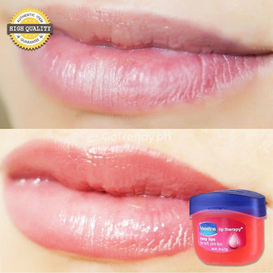 Lips Moisturizer: Vaseline Lip Therapy Balm - Heals Dry Dull & Cracked (Buy 1 Take 1)