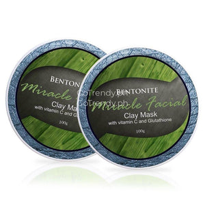 New Bentonite Clay Mask - Advance Miracle Facial With Vitamin C & Glutathione (Buy 1 Take 1)