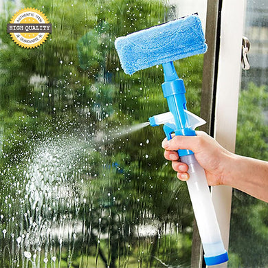 3 in 1 Window Glass Squeegee Cleaner
