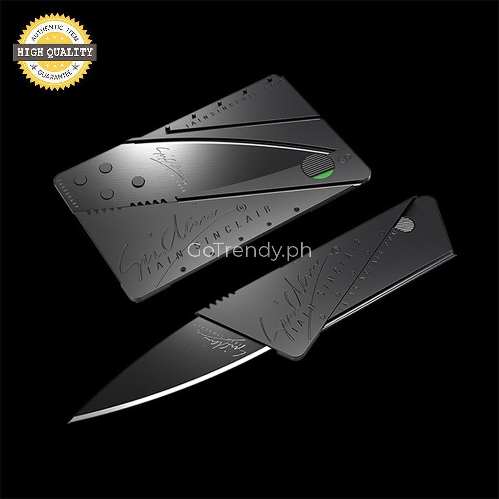 Cardsharp Credit Card Folding Safety Knife - The Best Portable Security In World