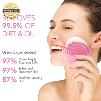 Beauty Brush Facial Cleansing Massage Brush for Glowing Skin