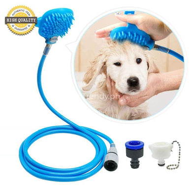 Pet Shower Bathing Scrubber Tool For Faster
