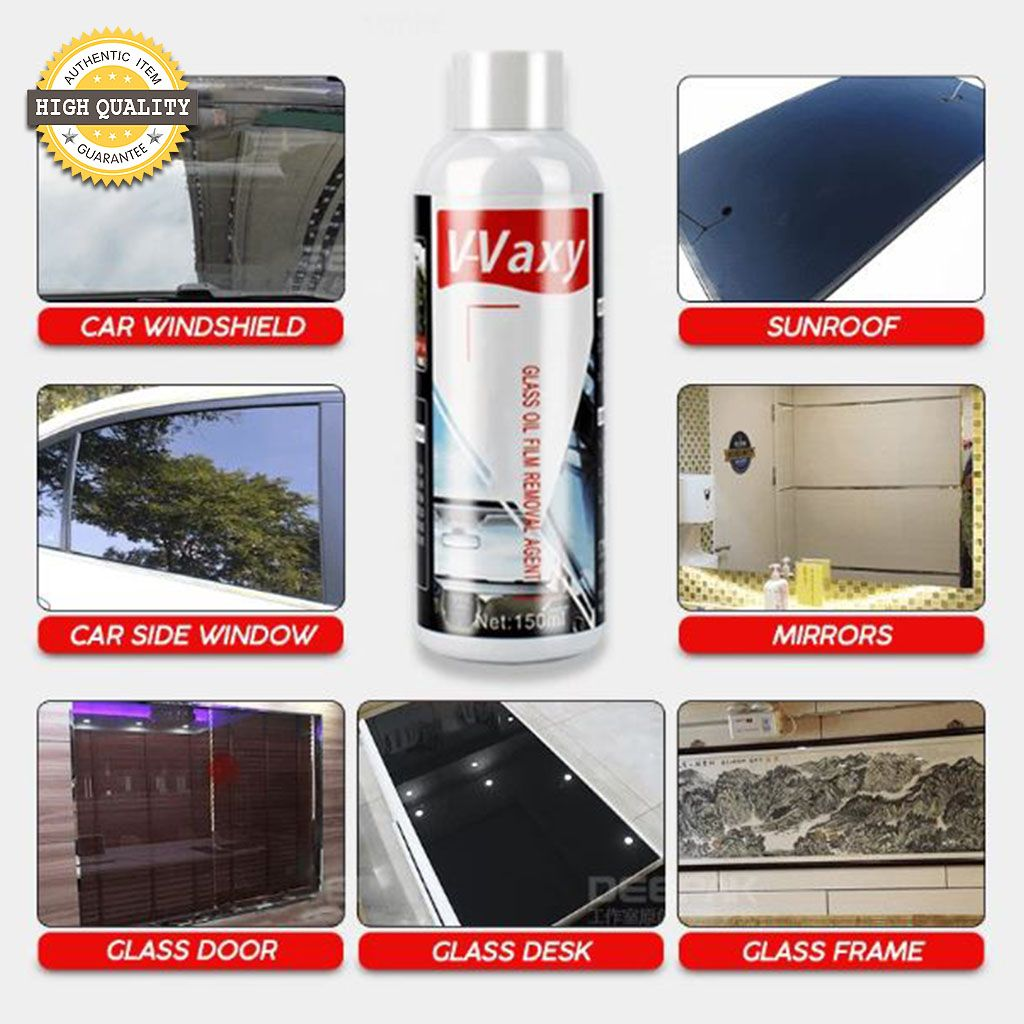 VVAXY Watermark Cleaner and Nano Tech Coating