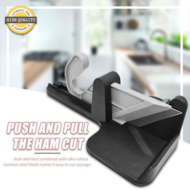 Manually Push and Pull Ham and Vegetable Cutter