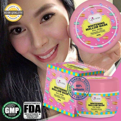 Skin Aura Whitening Mallow Mask