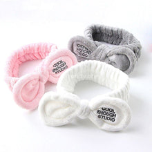 Cute Rabbit Ears Bathroom Hairband - Holds Your Hair While Doing Anything