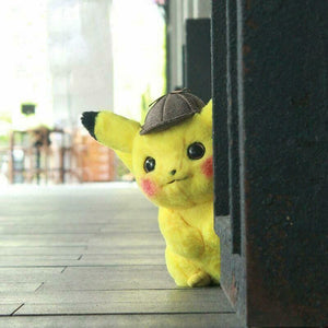 Cute Detective Pikachu Stuff Toy