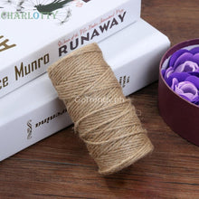 Roll Soft Jute Twine Twisted String Rope
