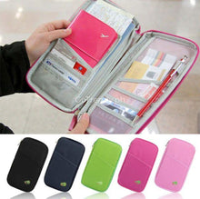 Passport Card Cash Organizer