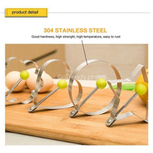 5Pcs/set Stainless Steel Shaped Fried Egg Mold