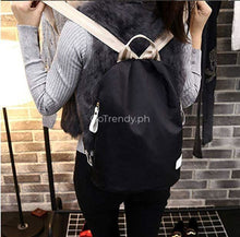 Korean 3 In 1 Anti-Theft Backpack Set