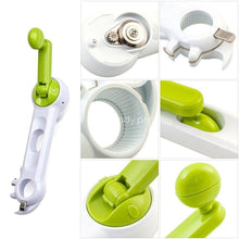Multifunctional 6 In 1 Can Bottle Opener